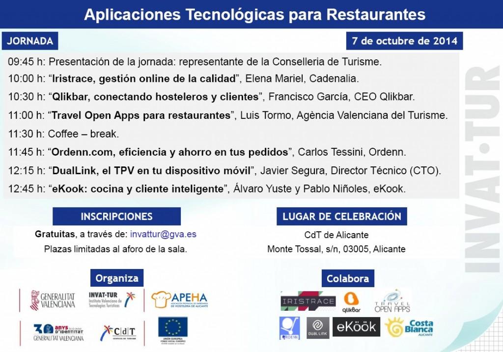 Jornada aplicaciones tecnológicas para el restaurantes2