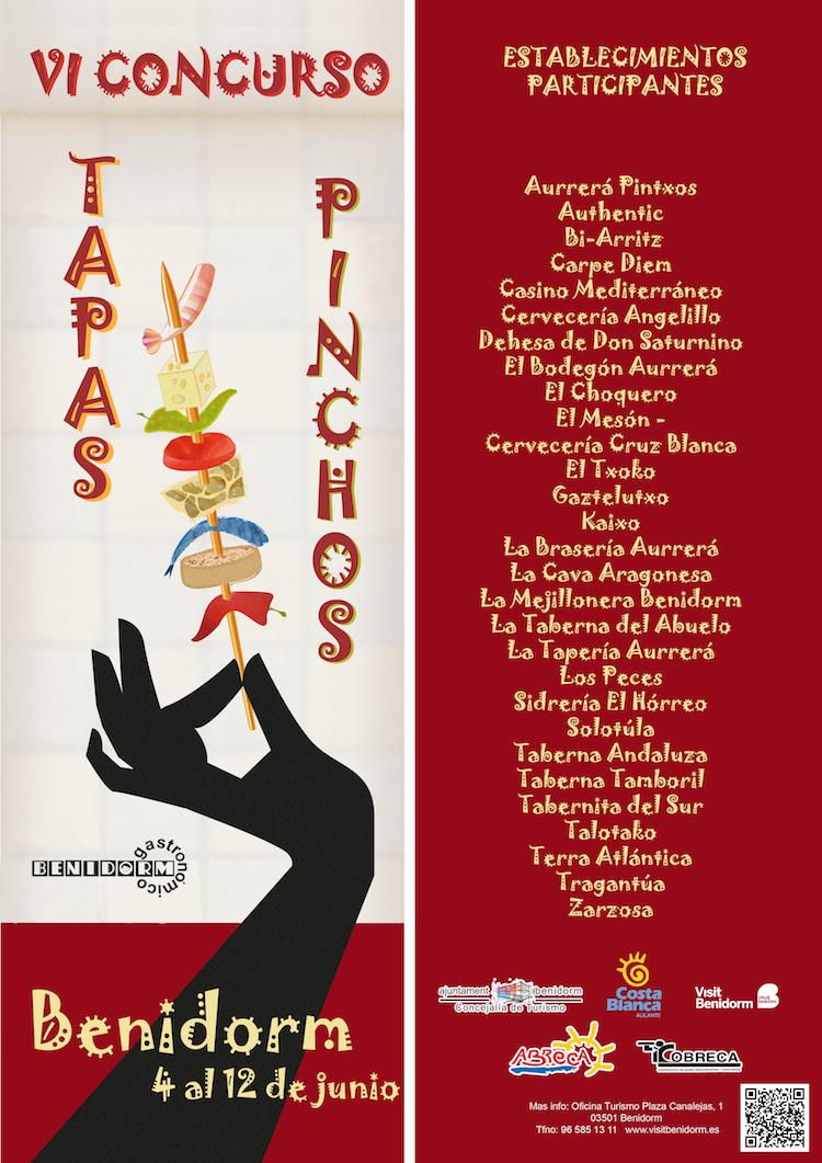 Concurso Tapas y Pinchos Benidorm 2016
